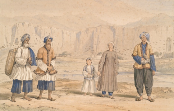 Bameean - Tajuks of Bameean and the Kohistan - 1843